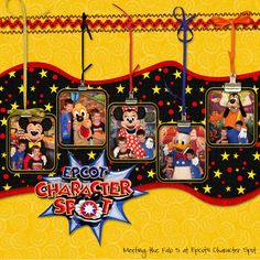 Epcot Character Spot - Page 2 - MouseScrappers.com