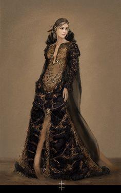 Eri, Helios' Dress by eve ventrue