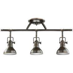 Kichler Olde Bronze Halogen Swivel Ceiling Fixture -