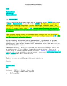 A resignation acceptance letter is the letter to an employee from an accepting employee resignation letter how to make an accepting employee resignation letter download this expocarfo Image collections