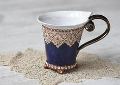Ceramic Cup Tea Cup Handbuilding Techniques Ceramics and