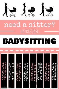 Babysitting                                                       …
