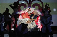 Coach Xtina on her throne! #TheVoice #TeamXtina #MakeTheWorldMove