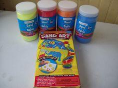 Sand Art fun for the kids.