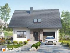 Dom w lucernie 4 Micro House, Home Fashion, House Styles, Outdoor Decor, Houses, Plans, Design, Home Decor, Porch Roof