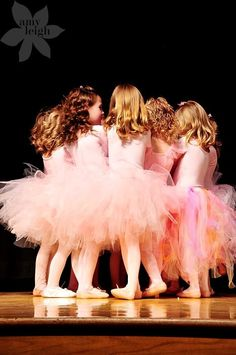 Little girls in pink tutus are what epitomises that inner princess that most of us were when we were lttle