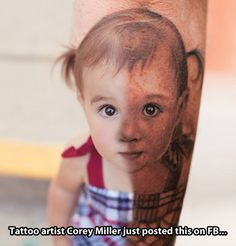 Tattoo perfection! Corey Miller is such an amazing tattoo artist!