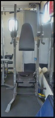 Mobile gym ab station