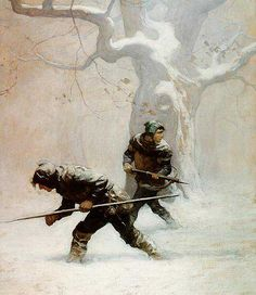 N.C. Wyeth, (American,1882-1945) from Robin Hood