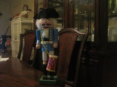 My Colonial Nutcracker....I like to think of him as Patrick Henry!