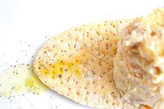 Ensaladilla rusa, con salsa de Wasabi y Algas.