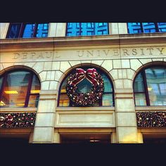 DePaul is ready for the holidays!