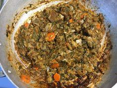 Legume 2 Haitian Food Legume, Haitian Food Recipes, Legumes Recipe, Hatian Food, Eggplant Seeds, Sour Orange, Potato Mashers, Seasoned Salt, How To Cook Shrimp