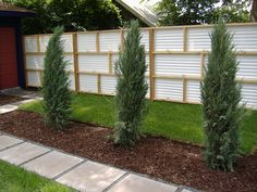 Corrugated Fiberglass Fence