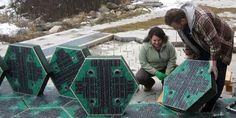 The Idaho couple that created an innovative road surface made of solar panels is back with a prototype, and they're looking to Indiegogo for additional funding.