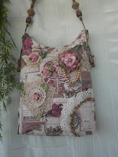shabby chic purse images - Google Search