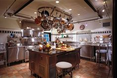 American Brick Georgian | Great Transformations | Charles Hilton Architects |||||| this is one nice catering kitchen :)  -db.