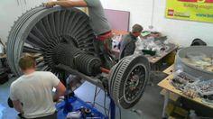 Moving Rolls-Royce Trent 1000 jet engine made from #LEGO bricks - via BBC News