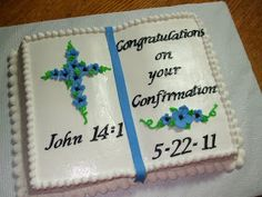 Cakes by Paula: Confirmation Book Cake
