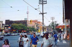 Toronto's Chinatown area.