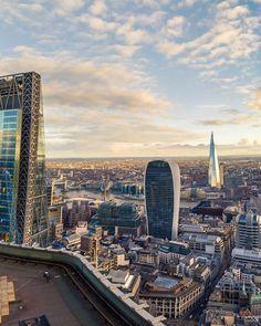 View of the beautiful London skyline The Shard London, London View, Uk Photos, London Photos, Beautiful London, Beautiful Places, London Bridges Falling Down, London Landmarks, London Skyline