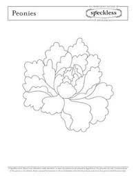 Image result for brush embroidery flower template