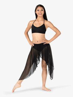 f13d2e39347 Adult Convertible High-Low Dance Skirt