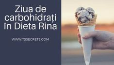 Rina 90 - Ziua de carbohidrați in Dieta Rina Rina Diet, Meal Planning, The Cure, Healthy Eating, Cooking, Sport, Food Ideas, Exercise, Diets