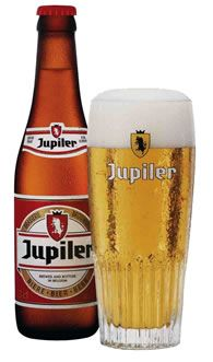 Jupiler Pils Beer, Brewery Jupiler in Jupille-sur-Meuse, Belgium