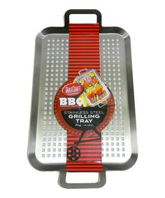Look what I found on #zulily! Stainless Steel Grilling Tray #zulilyfinds