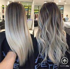 Lange gewellte Frisuren, die jede Dame sehen sollte #FrisurfürwelligesHaar