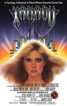 Xanadu. Olivia Newton-John, Michael Beck, Gene Kelly. Directed by Robert Greenwald. 1980