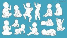 Baby Poses by CourtneysConcepts