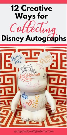 Do you want to collect autographs on your upcoming Disney vacation?  Here are 12 fun ways sure to please young and old alike as you meet your favorite Disney Characters!