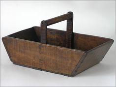 wooden trug basket - Google Search