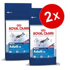 Animalerie  Lot Royal Canin Size grand format x 2 pour chien  Maxi Health Nutrition Dermacomfort (2 x 12 kg)
