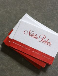 I don't have any reason for business cards of my own design, but I like them anyway.