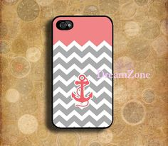 iPhone caseanchor Chevron iphone 4 case personalized by DreamZone, $6.88