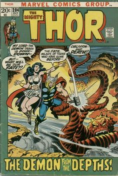 Hard to find images of the Lady Sif from the 70's.  I always thought it strange that this supposed warrior and expert swordswoman wore a flimsy white mini-dress as her battle togs.  Of course, back then she mostly just waited for Thor to rescue her.