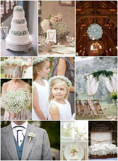 babys breath wedding cake etc ... Like a few things, don't like some others