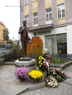 Memorial of the president Masaryk