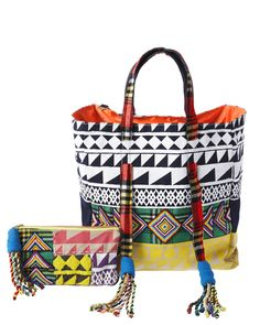 sass & bide have created an exclusive set of tribal-inspired accessories as part of the Ethical Fashion Initiative.