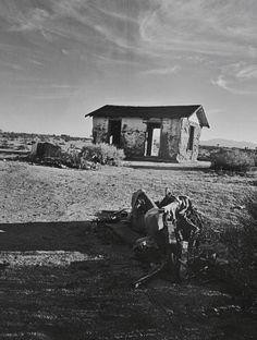 Mojave Desert California Roadtrip Travel Abandoned House Places