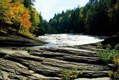 Mandido Falls ~ Michigan's Upper Peninsula at Porcupine Mountain State Park