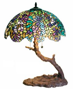 Tiffany Lamps For Sale | Tiffany Style Tree Lamp by Warehouse of Tiffany 1686+BB449