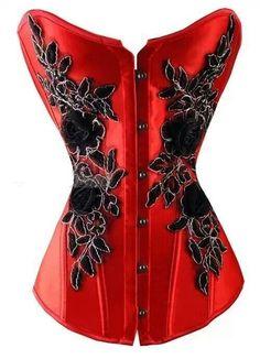Sexy Crimson Corset