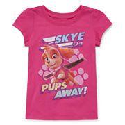Paw Patrol Short-Sleeve Graphic Tee - Toddler Girls 2t-4t