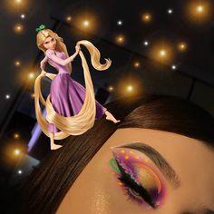 Rapunzel Makeup, Disney Makeup, Princess Makeup, Dream Big, Going Out, Eye Makeup, Wigs, Hair, Character
