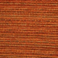 Burnt Orange Chenille Upholstery Fabric - Rimini 1190