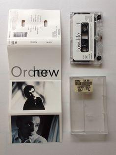New Order – Low-life Factory – Fact 100c Cassette, Album UK 1985 Design – Peter Saville Associates Engineer – Michael Johnson Photography By – Trevor Key Producer – New Order Technician [Tape Operators] – Mark*, Penny (2), Tim* Written-By – New Order